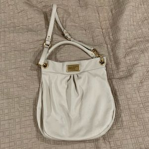 Marc by Marc Jacobs cream leather purse